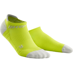 cep No Show Socks 3.0 Homme, lime/light grey